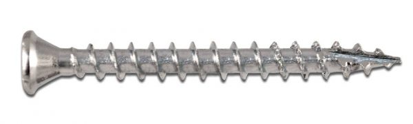 Wofix 0341093 Spaanplaatschroef PZ2 Verzinkt - 4.0 x 25 mm (200 stuks)
