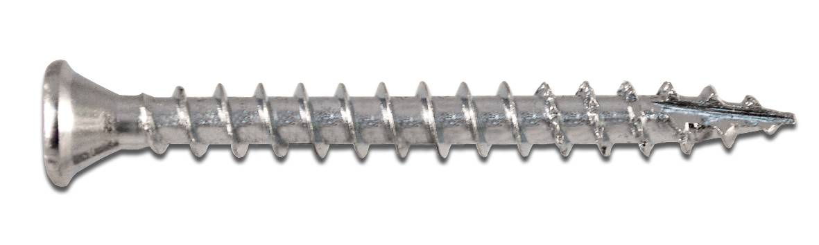 Wofix 0341094 Spaanplaatschroef PZ2 Verzinkt - 4.0 x 30 mm (200 stuks)