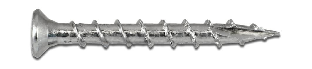 Wofix 0341042 Spaanplaatschroef (Speciaal voor Scharnieren 89x89) PZ2 Verzinkt - 4.5 x 40 mm (8 mm kop) (200 stuks)