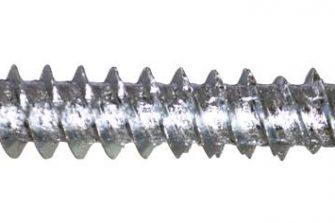 Wofix 4211072 Kozijnschroef Platkop verzinkt - 7.5 x 72 mm (100 stuks)