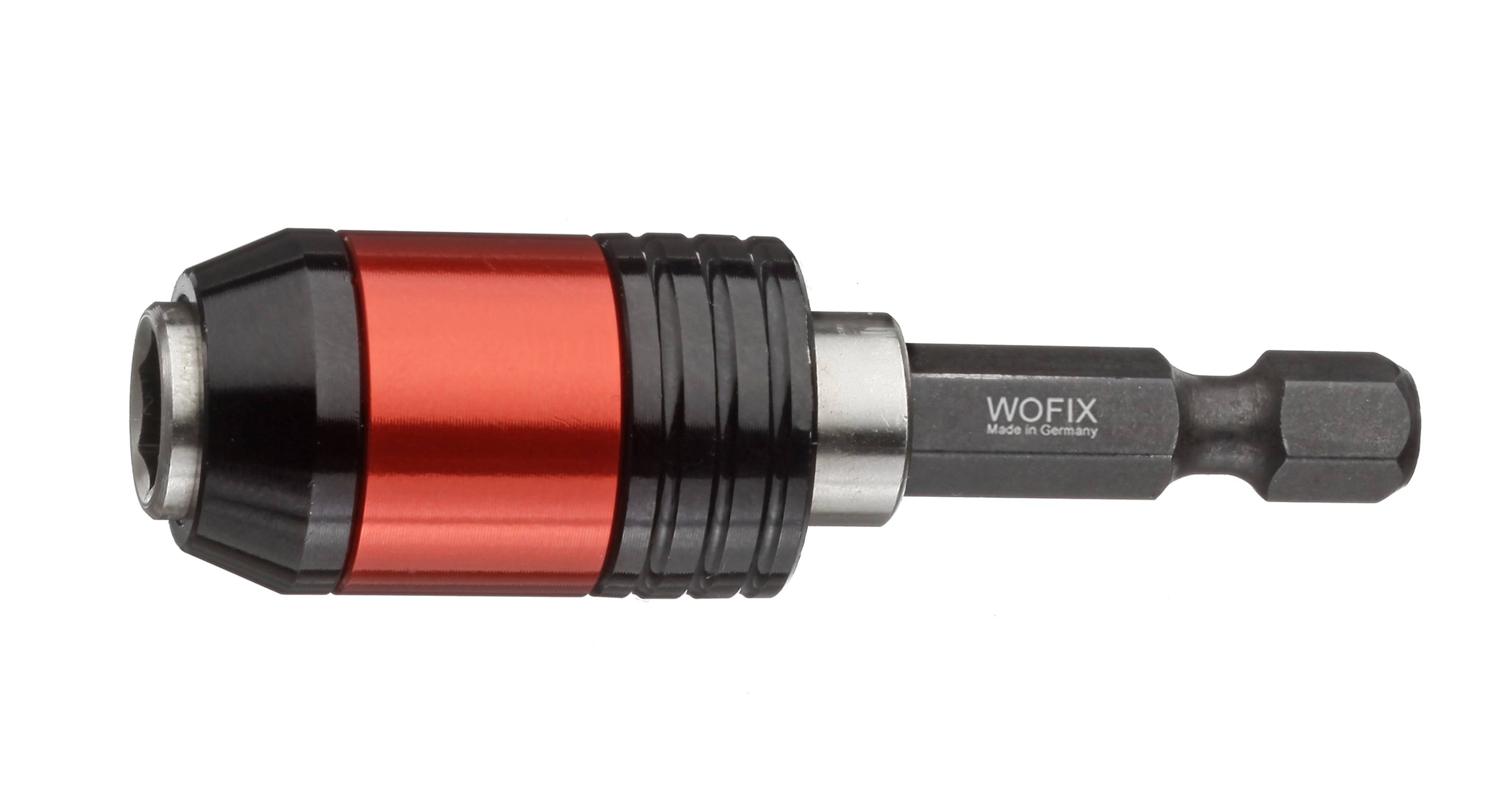 Wofix 7360009 Universele Bithouder magnetisch click-lock and ejection functie 60mm