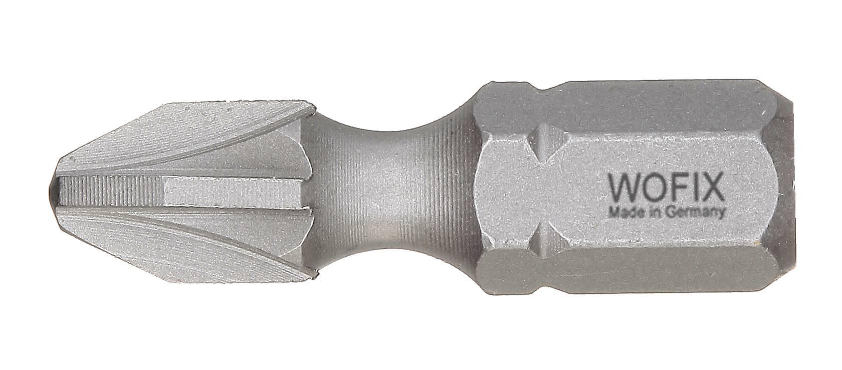 Wofix 7334125 Torsion Pozidrive bit - PZ1 x 25 mm