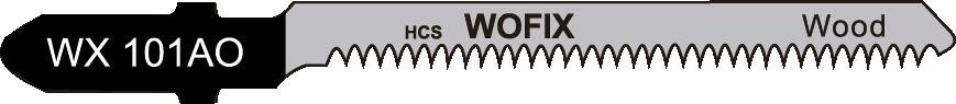 Wofix 5120008 / WX101AO Decoupeerzaagblad voor hout en kunststof (5 stuks)