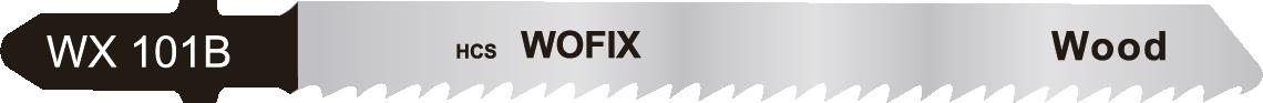 Wofix 5120004 / WX101B Decoupeerzaagblad voor hout en kunststof (5 stuks)