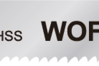 Wofix 5120036 / WX118A Decoupeerzaagblad voor dun staal en blik (5 stuks)