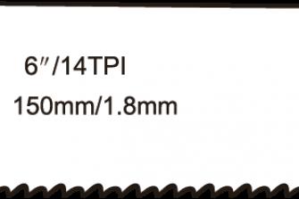 Wofix 5121020 / WX922BF Reciprozaagblad voor staal (5 stuks)