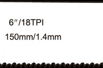 Wofix 5121016 / WX922EF Reciprozaagblad voor staal (5 stuks)