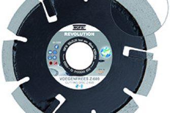Wofix 5581705 Zachte Voegenfrees Z-600 Revolution- 125 x 22,23 mm - segmentbreedte 8,0 mm