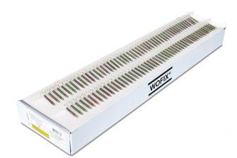 Wofix 0418012 Spaanplaatschroef op band - geel verzinkt - 4.0 x 30 mm PZ 2 (1000 stuks)